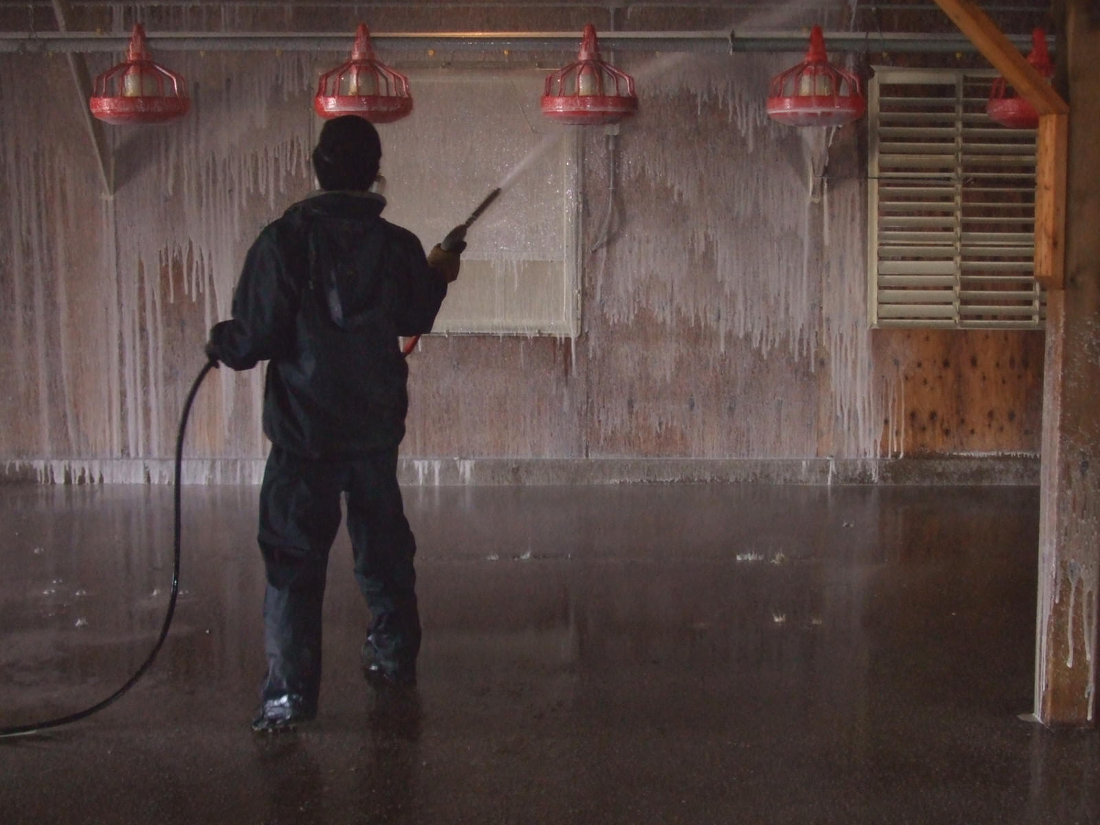 Poultry Barn Disinfect